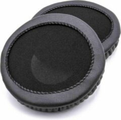 Dolphix Oorkussens universeel (102-105mm) compatibel met o.a. AKG, Behringer, Beyerdynamic, Corsair, Denon, JVC, MB Quart, Medion, Panasonic, Sennheiser, Silvercrest, Sony en Trust hoofdtelefoons / zwart