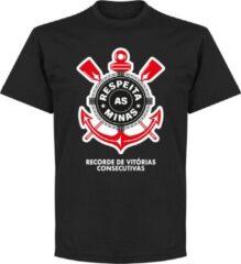 Retake Corinthians Minas T-Shirt - Zwart - XXXXL