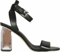 Michael Kors Petra Ankle Strap Dames Sandalen - Zwart - Maat 40