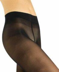 Cette Jersey 30 zwarte plussize panty - Zwart