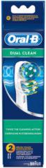 OralB Bürstenaufsätze-Set (Dual Clean) für Zahnbürste 64711700, EB417-2