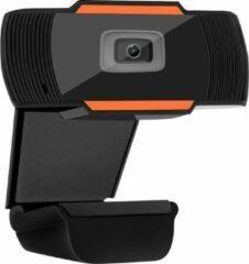 Oranje M2MSolutions Webcam 720P| Webcam voor pc | Webcam met microfoon | Webcam voor pc met USB | Webcams | Meeting | Conference | Telewerken | Thuiswerken | Vergaderen | Zakelijke webcam | Familie webcam