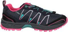 Rosa Trail Running Schuhe Atlas Trail mit Ortholite-Einlegesohle 3Q95266 CMP Navy-Pink Fluo-A.Marina