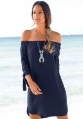 Blauwe LASCANA blousejurkje