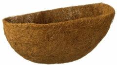 Bruine Nature 3 Stuks Kokosinlegvel Voor Hanging Basket Voorgevormd Met Waterkering Een Halve Dia. 35cm
