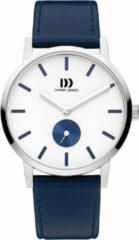 Zilveren Danish Design edelstalen herenhorloge Tokyo Silver White Blue Large IQ22Q1219