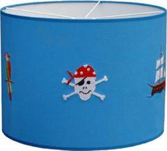 Blauwe Taftan Hanglamp Hard Piraat-diameter 35 cm