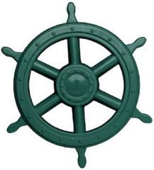 Swing King piratenstuurwiel voor speelhuisje 40 cm donkergroen
