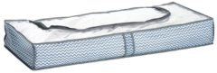 2er-Set Unterbett-Boxen, weiß/grau Zeller weiß/grau