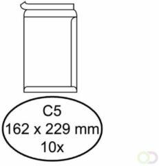 Envelop Quantore bank C5 162x229mm zelfklevend wit 10stuks
