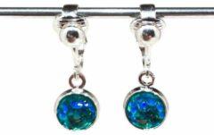 MNQ bijoux - Clipoorbellen - Oorclips - Kind - Meisjes - Zeemeermin - Turquoise - Hangoorbellen