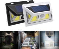 Meco ARILUX® 10W Solar Power 66 COB LED Waterproof PIR Motion Sensor Light Outdoor Wide Angle Wall Lamp