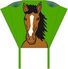 Invento eenlijnskindervlieger Pocket Sled Bronco 43 cm groen