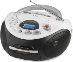 AEG Tragbares Stereo Kassettenradio mit CD/MP3 »SR 4353«