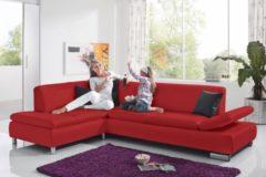 Max Winzer® Polsterecke mit Ottomane »Toulouse« mit klappbaren Armlehnen