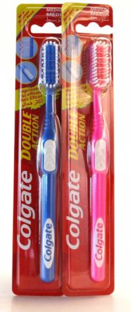 Afbeelding van Colgate Tandenborstel – Double Action Medium, 1 tandenborstel