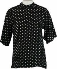 Catwalk junkie soepele zwarte blouse viscose - Maat XS