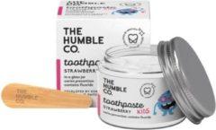 Humble Brush Kindertandpasta Zero Waste - Aardbei met fluor - 50ml Aardbei