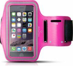 Roze #DoYourFitness - Sportarmband - »RunnerGirl« - Hardlooparmband voor telefoon - MEDIUM 50 cm - Pink
