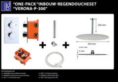 ADW Design Regendoucheset Best Design Verona P300 Inbouw Met Inbouwbox Chroom