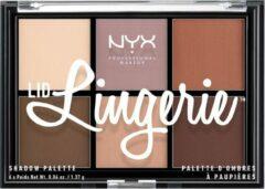 NYX Professional Makeup NYX PMU Professional Makeup Lid Lingerie Shadow Palette - LLSP01 - Oogschaduw Palet - 8,22 gr
