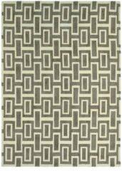 Wedgwood - Intaglio Grey 37201 Vloerkleed - 120x180 cm - Rechthoekig - Laagpolig Tapijt - Design, Retro - Beige, Grijs