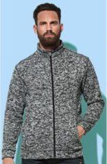 Stedman Fleece vest premium donker grijs voor heren - Outdoorkleding wandelen/camping - Vesten/jacks herenkleding 2XL (44/56)