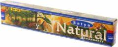 Bruine Mountain-giftshop Satya Natural wierook Los pakje a 15 gram.