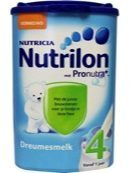 Nutrilon dreumes groeimelk 4 (1 Pak van 800 gr) (Nieuwe Verpakking)