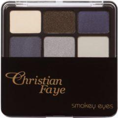 Christian Faye Smokey Eyes Oogschaduw Oogschaduwpalette 1 st.