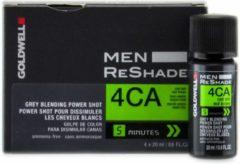 Goldwell - Men - ReShade - 4CA Koel As Middelbruin - 4x20 ml