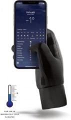 Zwarte Mujjo Insulated Touchscreen Handschoenen - Small