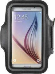 Zwarte Universele Smartphone Hardloop Armband / Hardloopband Sportband Voor Samsung Galaxy S5 / S6 Edge / S7