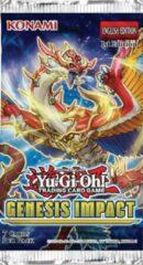 YuGiOh! - Konami Yu-Gi-Oh! - Genesis Impact booster pack - yugioh kaarten