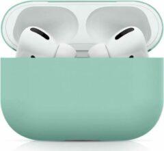 GSMpunt.nl Apple AirPods Pro Ultradun Siliconen Hoesje Blauw/Groen