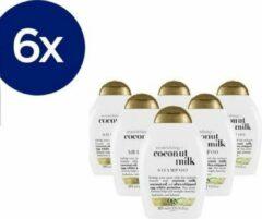 OGX Organix Coconut Milk Shampoo - Voordeelverpakking 6x385ml