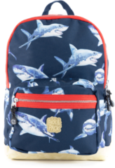 Pick & Pack Shark Backpack M navy Laptoprugzak