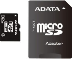 ADATA Technology Co ADATA Flash-Speicherkarte (microSDHC/SD-Adapter inbegriffen) AUSDH32GCL4-RA1