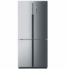 Zilveren Nieuw! Haier Htf-456dm6 Amerikaanse Koel- Vriescombi 180.4 Cm A+   Welhof; Dé Outlet Store Van De Benelux   Welhof; Dé Outlet Store Van De Benelux