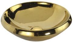 Opbouw waskom Sapho Minimal 45x13.6 cm Keramiek Goud