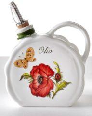 Nostalgischer Ölbehälter 'Giardino Botanico' Nuova Ceramica Artisan mehrfarbig