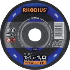 Rhodius RHOD slijpschijf XT 67, doorslijpen, diam schijf 115mm, dikte 1mm