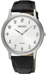 Roze Seiko SUP863P1 horloge heren - zwart - edelstaal
