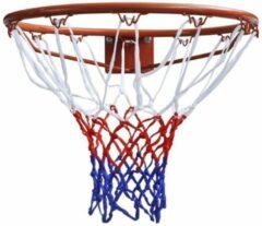 Oranje Basketbalring met net 45cm (Dunlop)Dunlop