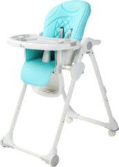 Bo Jungle B-Dinner Chair Wheely Kinderstoel - Blauw