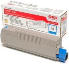 OKI C5800, C5900, C5550MFP tonercartridge cyaan standard capacity 5.000 pagina s 1-pack