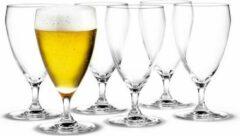 Holmegaard Perfection set/6 beer glass 44cl
