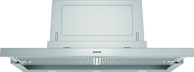 Afbeelding van Zilveren Siemens LI97SA531 vlakscherm afzuigkap 90 cm breed met 2 motoren