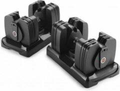 Zwarte Bowflex 560i Smart Dumbbells met bewegingssensor - Kunststof