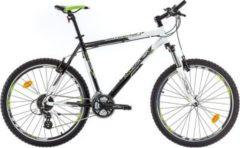 26 Zoll Herren Mountainbike 24 Gang Bikesport All Carter... schwarz-weiß